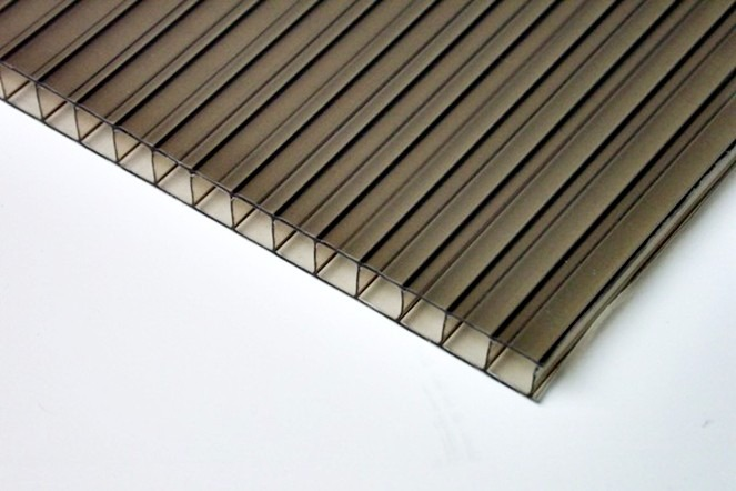 Placa policarbonato 10mm bronce oferta recorte 50x90cm - Placa policarbonato precio ...