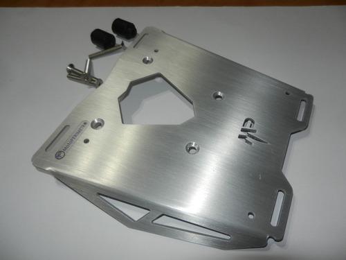 placa porta equipaje aluminio bmw 650/700/800 motoperimetro®