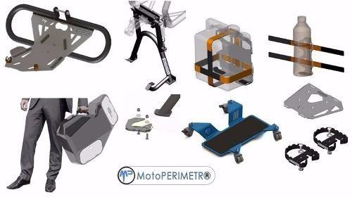 placa portaequipaje motoperimetro bmw f650/700/800 gs 05 16