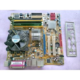 Placa Pos Pq35as + Proc, E5700 + 2gbram + Cooler E Espelho