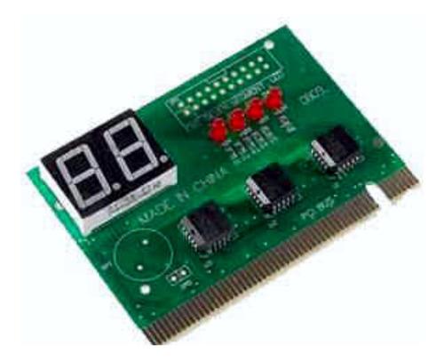 placa post de testeo pci herramienta de diadnostico