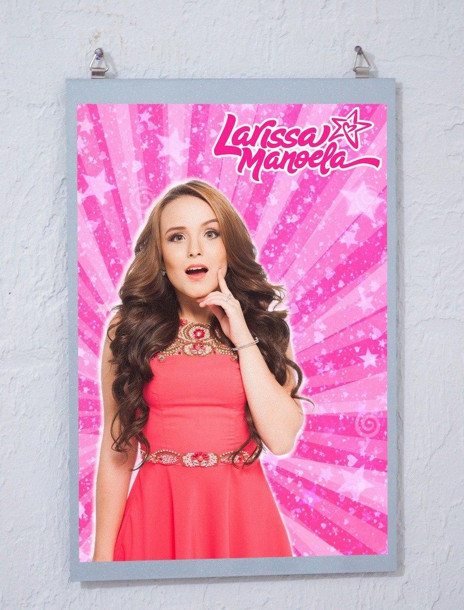 ecb3c90bcc661 Placa Poster Quadro Larissa Manoela (o Diário De Larissa) - R  50