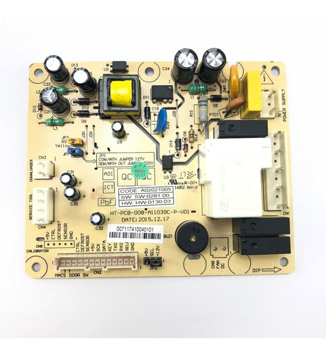 placa potência geladeira df80 df80x 64502201 70202070