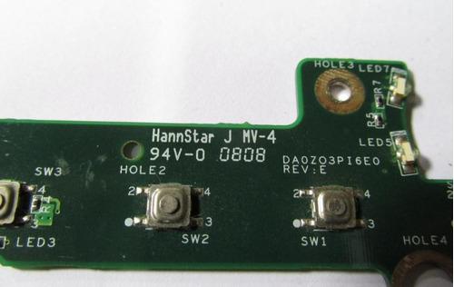 placa power botões multimídia notebook acer 4620 4220 4320