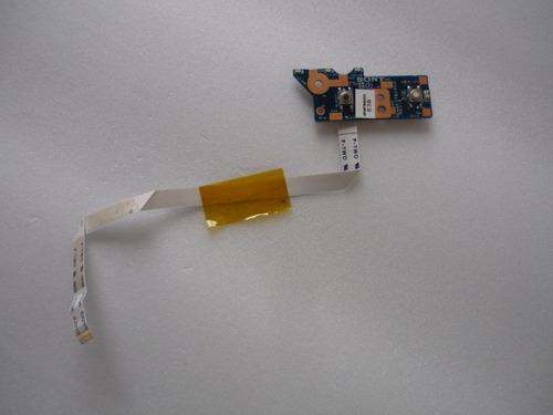 placa power button  dane7tb16e0 rev: e pcg61611x vpcee43eb