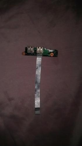 placa power e usb toshiba satélite a105  25 reais cada