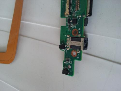 placa power jack / flat hp split x2 , produto original
