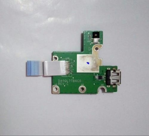 placa power usb lg c400 a410 séries da0ql7tb6c0 - original