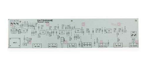 placa pre amplificador para contra baixo sb308 staner