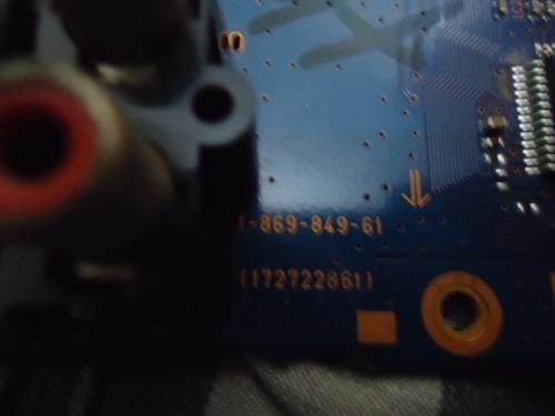 placa principa( av )l sony mod klv32s200a cód 1.849.852.61