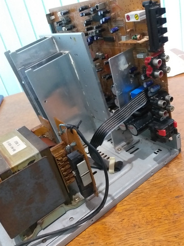 placa principal amp. + transformador aiwa zr997
