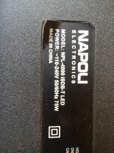 placa principal booster btv-40led / napoli npl-4090 isdb-t