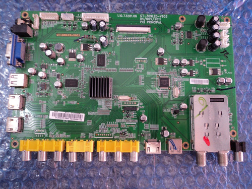 placa principal cce stile d32 gt309led v603