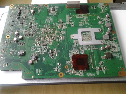 placa principal hp all in one g1 2100br para  sucata !!!
