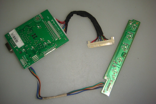 placa principal monitor philips 161vw9fb / 78 cód.715g3529-1