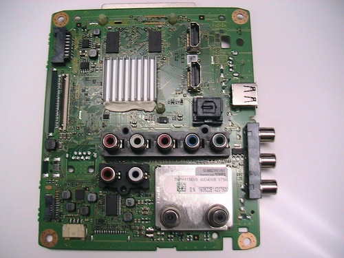 placa principal panasonic tc 40d400  tnph1156vb