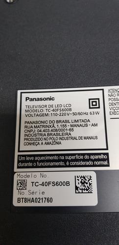 placa principal panasonic tc 40fs600b tnp4g603