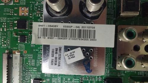 placa principal samsung ln40d550k7gxzd. cód bn91-06406y