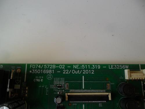 placa principal semp toshiba le3256aw *35016981