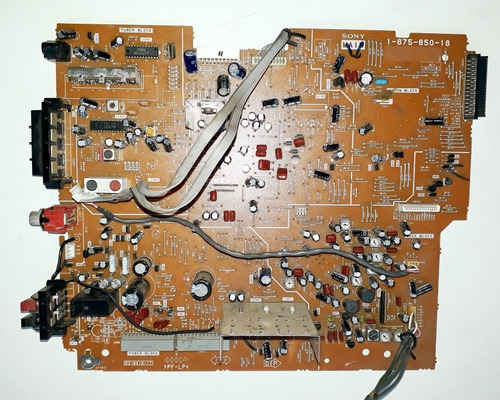 placa- principal -som sony mhc-dx3 . 1-875-850-18