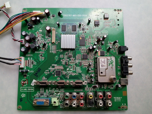 placa principal tv aoc  d32w931