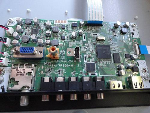 placa principal tv lcd emerson/funai lc320em2 ba17f8g0401 2_