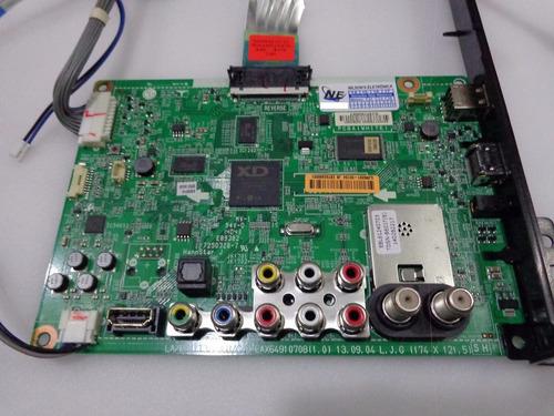placa principal tv led lg 42la6130 hs