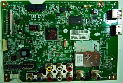 placa principal tv lg 39lb5600 eax65710301(1.5)