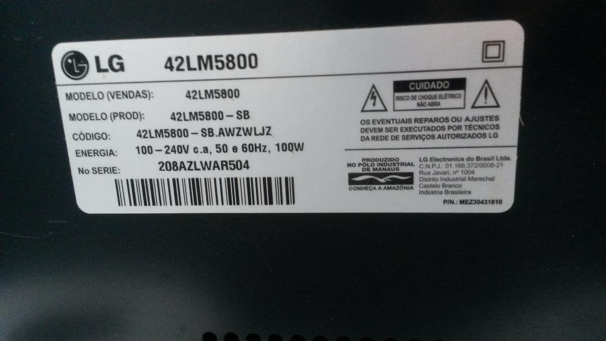 LG 42LM5800 TV Drivers Mac