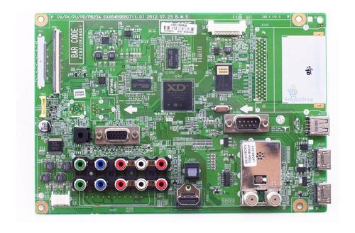 placa principal tv lg 60pa6500 50pa6500 original nova + nfe