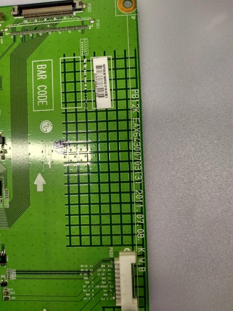 Placa Principal Tv Lg Modelo 50pt250b Eax64300703(3)