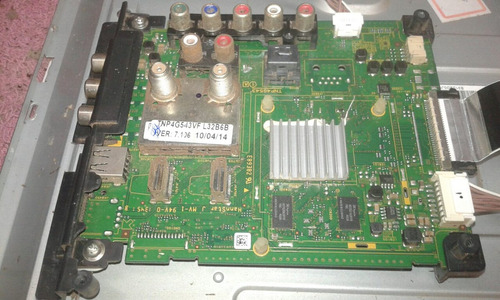 placa principal tv panasonic tc-l32b6b