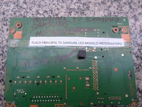 placa principal tv  samsung led - hg32na470 pg