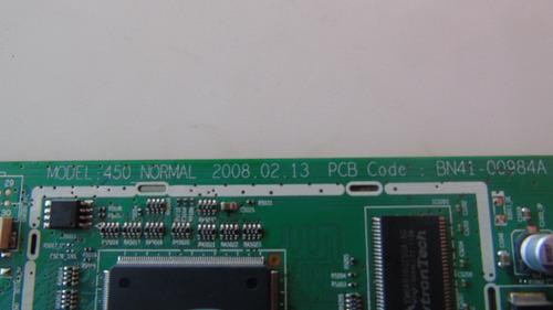placa principal tv samsung pl50a450p1 cód.bn41-00984a