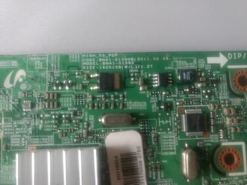 placa principal tv samsung pn51d550c1fxza - bn41-01590b