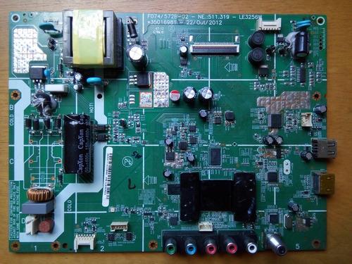 placa principal - tv semp toshiba le3256(a)