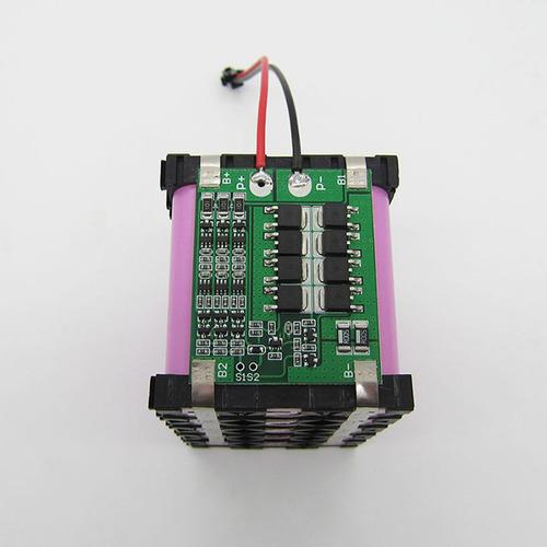 placa protección bms para 3 baterias li-ion 18650 11.1v 25a