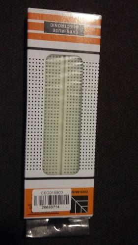placa protoboard 830 puntos