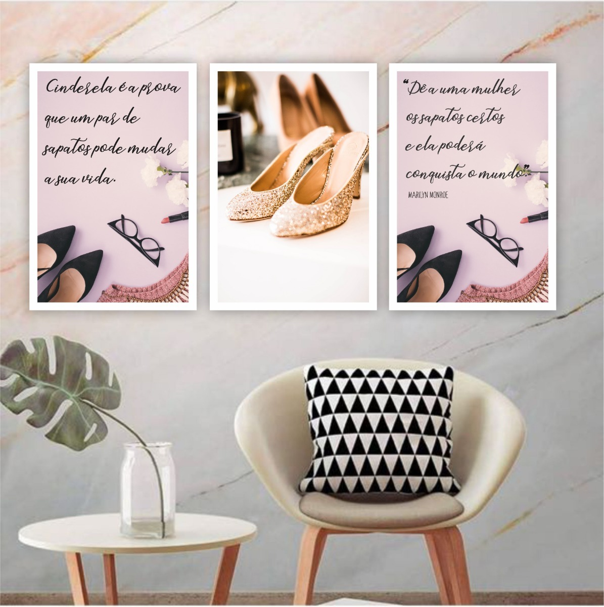 e8022c001 placa quadro 20x30cm loja sapatos calçado feminino mulher. Carregando zoom.