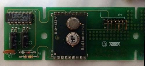 placa rádio frequencia *rf* ttl - balança filizola platina