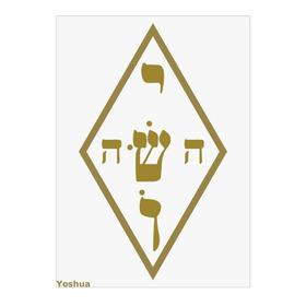 Placa Radiônica Nome Mistico De Jesus (yoshua) Gráfico Feng