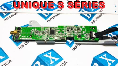 placa receptor tv + flat  positivo s2065 s séries