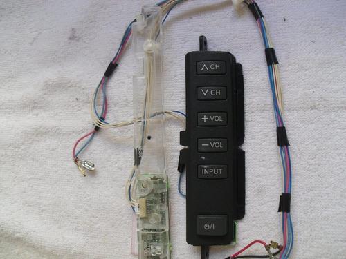 placa receptora do remoto e teclado panasonic tc-l32c10b