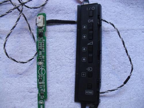 placa receptora do remoto e teclado sony kld46bx455