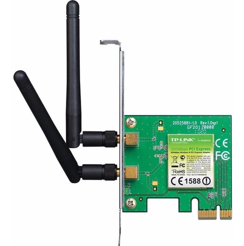 placa red inalambrica wifi tp-link tl-wn881nd 300 mbps pci-x