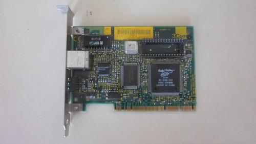placa rede 3com 10/100 pci 3c905b-tx
