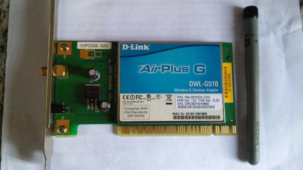 driver dwl-g510 para windows 7