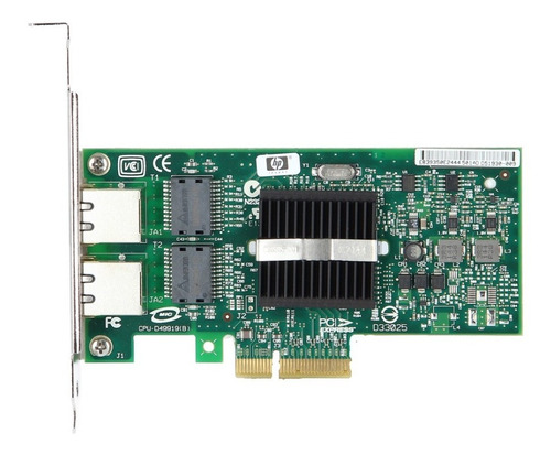placa rede dual giga intel pro 1000 82571 expi9402pt nc360t