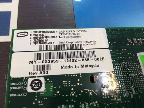 Placa Rede Intel Dell R620 Pci-e Dual Port Pro1000pt 0x3959