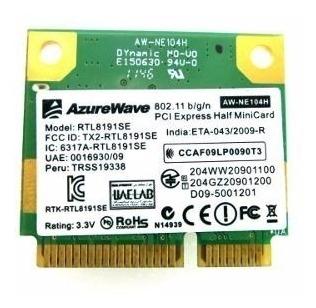 Placa Rede Mini Pci Notebook Wireless Rtl8191se Azurewave